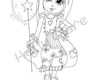 Digi Stamp Frankie the Modern Fairy