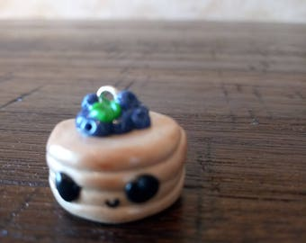 Charm for necklace, braclet, key ring. Lovingly handmade from Fimo.