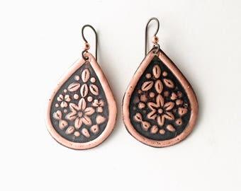 Everyday Earrings, Simple Earrings, Handmade Earrings, Dangle Earrings, Colorful earrings, Boho Earrings