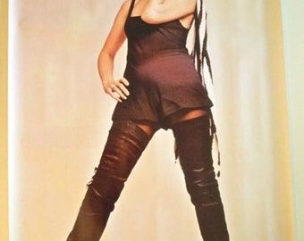 DEBORAH HARRY * Vintage Poster * Pace * Francisco Scavullo, Photographer * 1980 * Blondie * 24x36