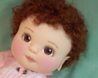 Joy is a 15 and 1/2 inch baby doll pattern.