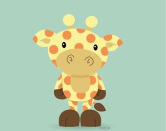 Giraffe Print 12x12