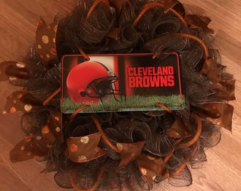 Cleveland Browns Wreath
