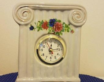 Vintage ceramic clock