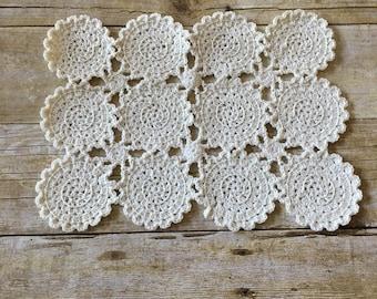 HANDMADE Crochet Doily. Centerpiece.