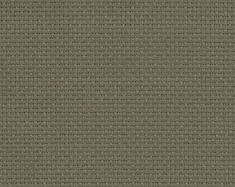 """Permin of Copenhagen - Country Cotton - 14 Count Aida - Cobblestone Gray - 12"""" x 13"""""""