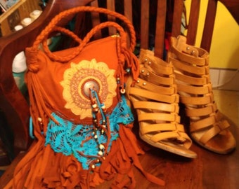 Aztec Summer Festival Bag