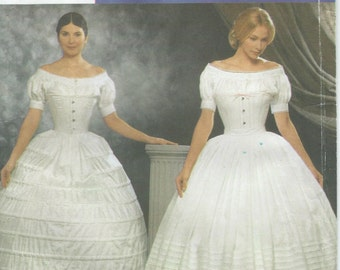 UNCUT Simplicity 9764 Sewing Pattern Civil War Undergarments Sewing Pattern Misses Size 6-12