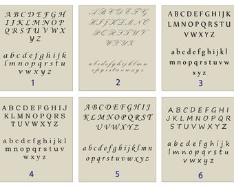 Fonts samples -not for sale.