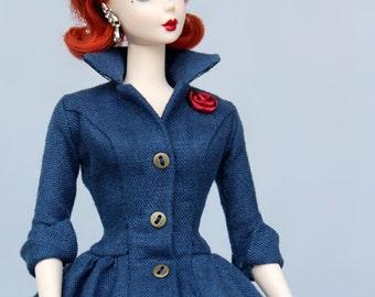 Dress Pattern pdf download for your Silkstone barbie Dolls