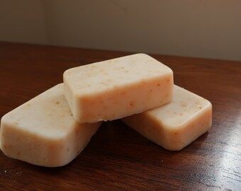 Olive Oil Soap - Orange Clove - Rectangle - Qty 3