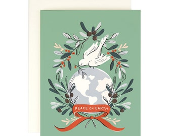 Peace on Earth 2 - Christmas Card
