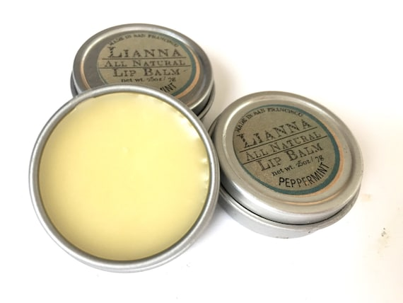 Lip Balm- Peppermint or Mint Mojito