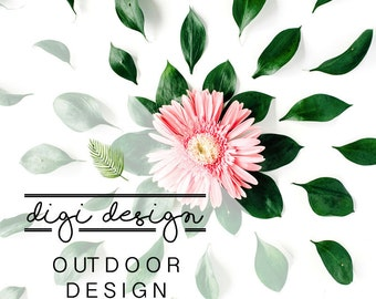 DIGI • DESIGN | Outdoor Room + Free Art Print