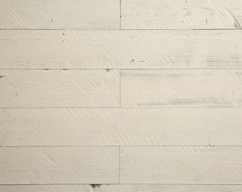 WoodyWalls Self-adhesive, Wood Wall Panels. (19.5 sq. ft. per box) Sweetened Milk
