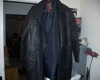 G III Leather coat