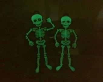 3D Printed Halloween keyrings