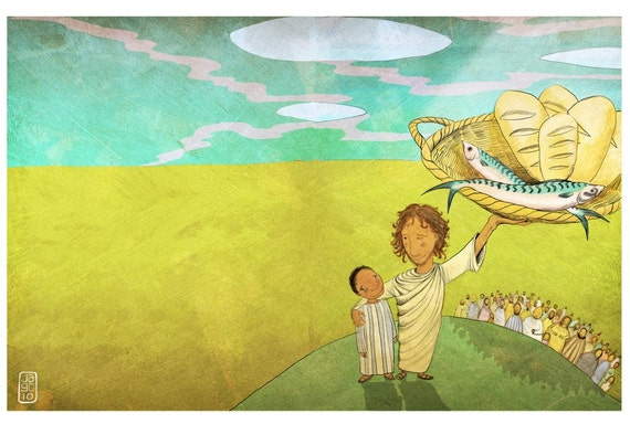The Jesus Storybook Bible - Signed Print (Page 246 - 247)