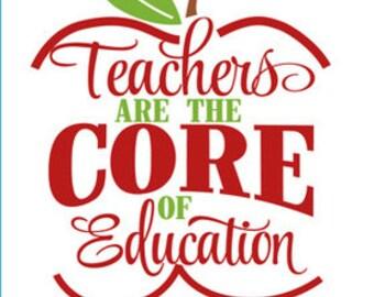 Teacher gift, teacher christmas gift, gift for teacher, teacher decal, decal for teacher, yeti decal, decal for yeti, gift for teachers