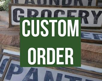 Custom Order for Anna