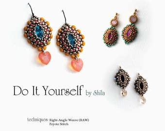 Step by step INSTANT download Pdf beading PATTERN #36