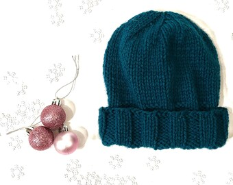 Turquoise child's hat