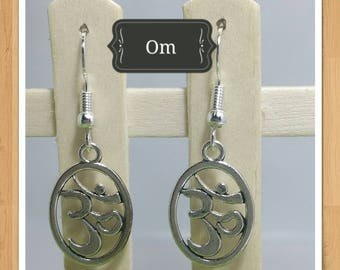 OM AUM YOGA earrings
