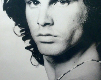 Jim Morrison 23x35 American Poet Close Up Poster 1996 The doors