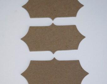 Chipboard Label Die Cut Set No. 1