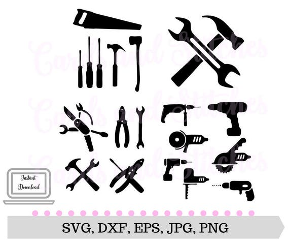 Tools Svg Power Tools Svg Digital Cutting File