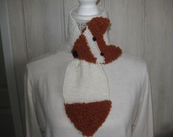 Kids ' Fox' scarf