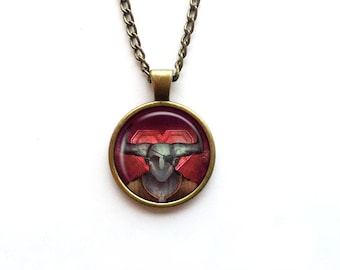 Necklace Dragon Age Romance Symbol Iron Bull