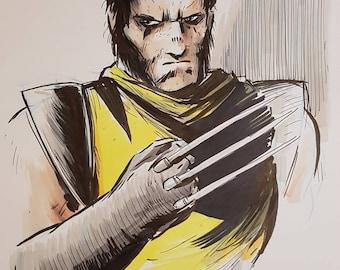 Wolverine original artwork