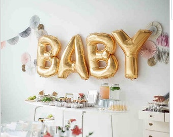 Baby Shower  - Baby - Party Supplies - Baby Shower Decorations - Baby Balloons - Baby Shower, Gender Reveal, Baby Shower Party