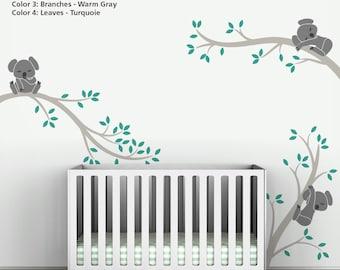 Koala Tree Branches by LittleLion Studio. Custom order for Ashley