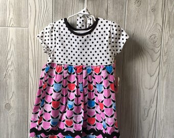 3T - tulip dress with headband