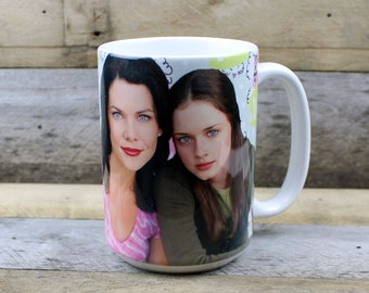 Gilmore Girls MUG Lorelai Rory gifts for her Girlfriend best friend gifts tv show stars hollow Lukes coffee Oy with the Poodles new fave mug