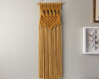 Macrame Patterns/Macrame Pattern/Macrame Wall Hanging Pattern/Wall Hanging Pattern/DIY Macrame/Name: Square Twist Chevron Pattern