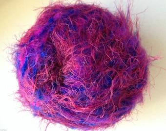 Knitting-crochet-wool - 10 balls Fur Wool / mohair / made in France