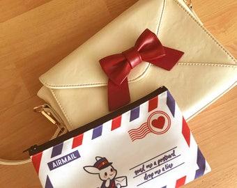 PREORDERBunny Mail Zipper Pouch