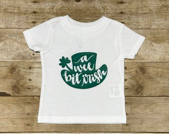 A Wee Bit Irish Infant Cotton Jersey T-Shirt