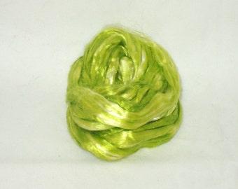 Maulbeerseide--Frühling fügen Sie 1/2 oz für Matten und Kunst Kammzug