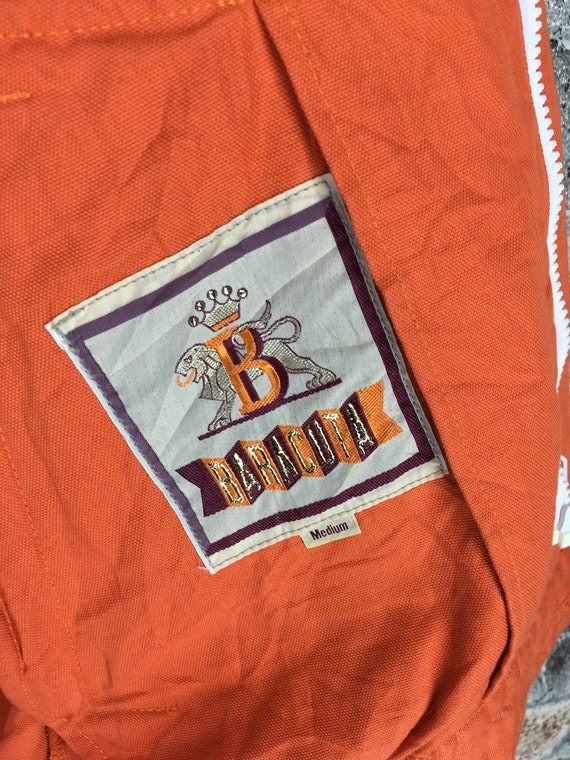 Size Vintage BARACUTA Hoodie Jacket Orange Designer 90's Jacket Baracuta Cargo Jacket Bomber Medium M Parachute England RRwqt6FT