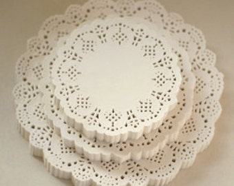 Paper Doily [Flower] / 200 Sheets