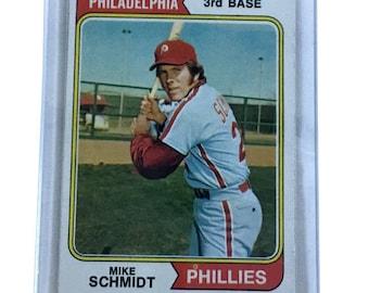 1974 Topps Mike Schmidt Philadelphia Phillies #283 Baseball Card