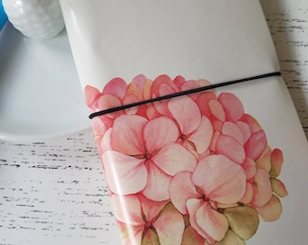 Floral Traveler's Notebook