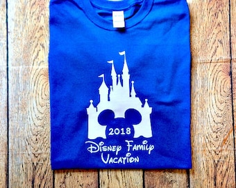 Disney Family Shirts, Disney Group Shirts, Matching Disney Shirts, Disney Castle Family Shirt, Family Magic Kingdom Shirt