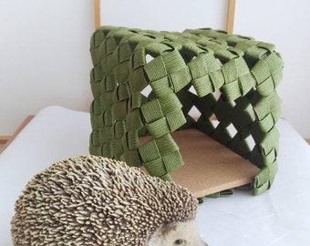 guinea pig, hedgehog, hamster, house, bed, cave, nest, den,gift, birthday, eco friendly