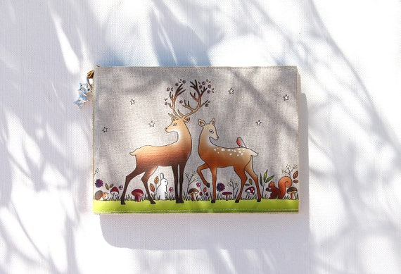 """The enchanted forest"" linen photo album"