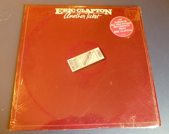 Eric Clapton Another Ticket Vinyl Record RS-1-3095  1981